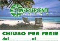Estate 2013 Scarica Il Cartello Chiuso Per Ferie Confesercenti Parma