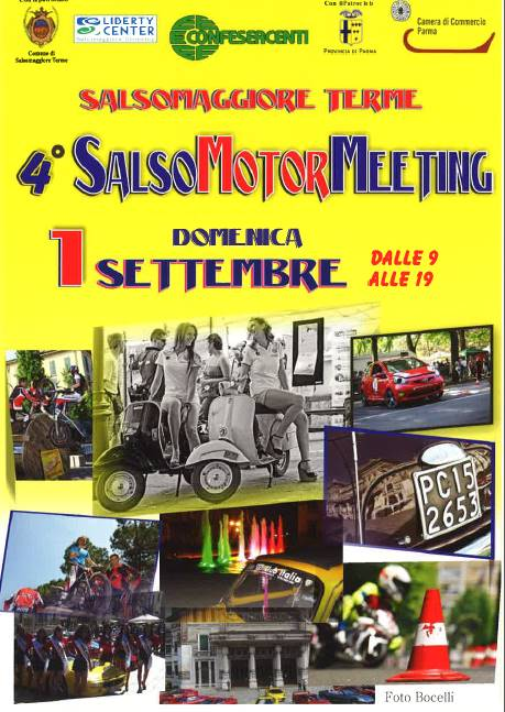 4° Salsomotormeeting il 1 Settembre 2013 a Salsomaggiore Terme