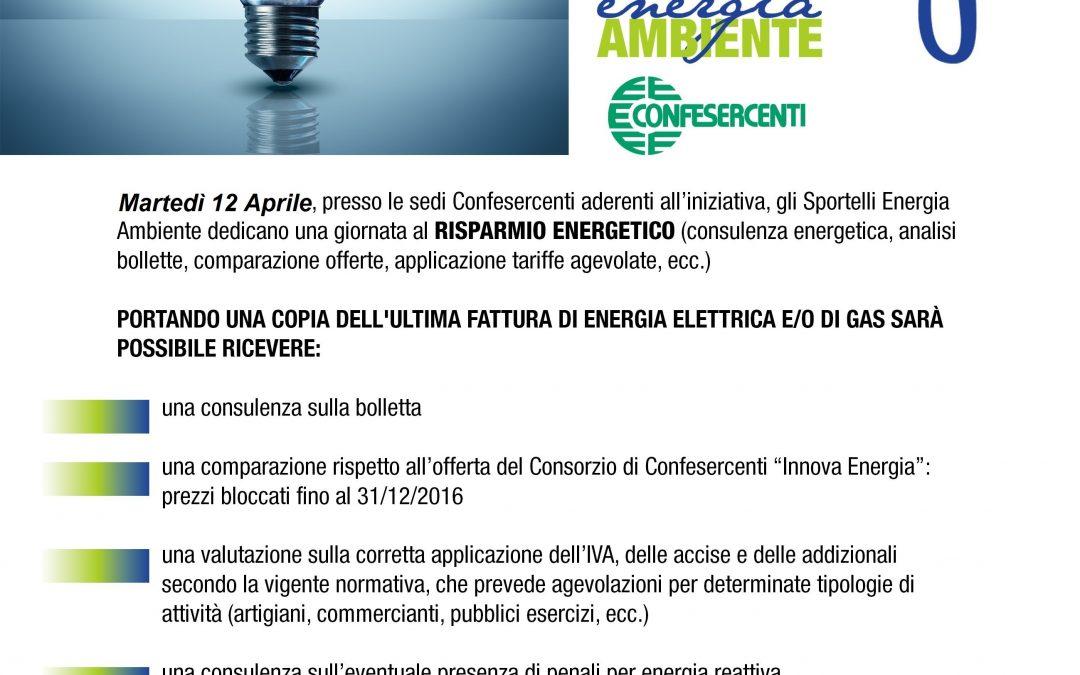 Energy Day il 12 Aprile 2016