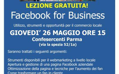Facebook Marketing, una lezione gratuita a Parma