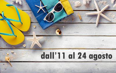 Confesercenti Parma chiude per Ferie dall'11 al 24 agosto
