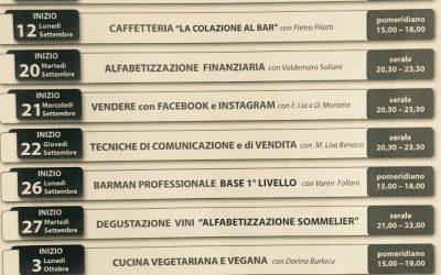 Corsi Cescot-Confesercenti Parma, a settembre si riparte