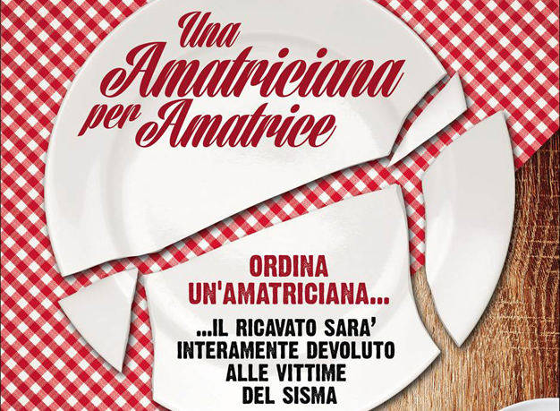 """""""Un'amatriciana per Amatrice"""". I ristoranti di Parma insieme per raccogliere fondi per le zone terremotate"""