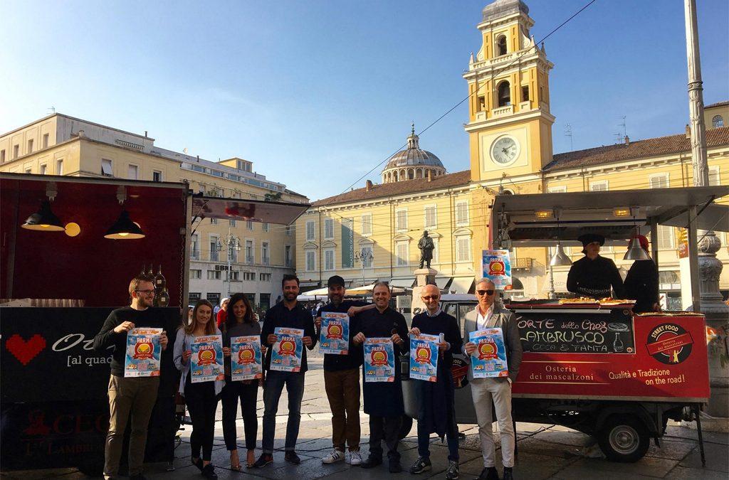 """""""La ricetta perfetta"""" per il ponte del primo maggio? Take truck food away!  Parma Street Food Festival dal 29 aprile al 1° maggio"""