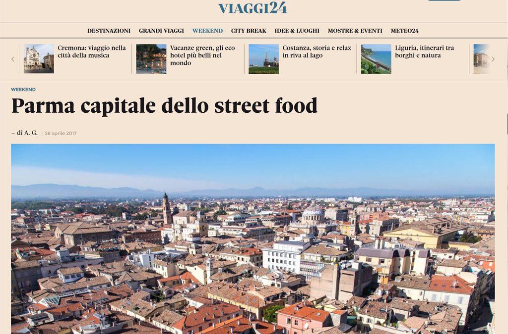 Il Sole 24 Ore: Parma capitale dello Street Food