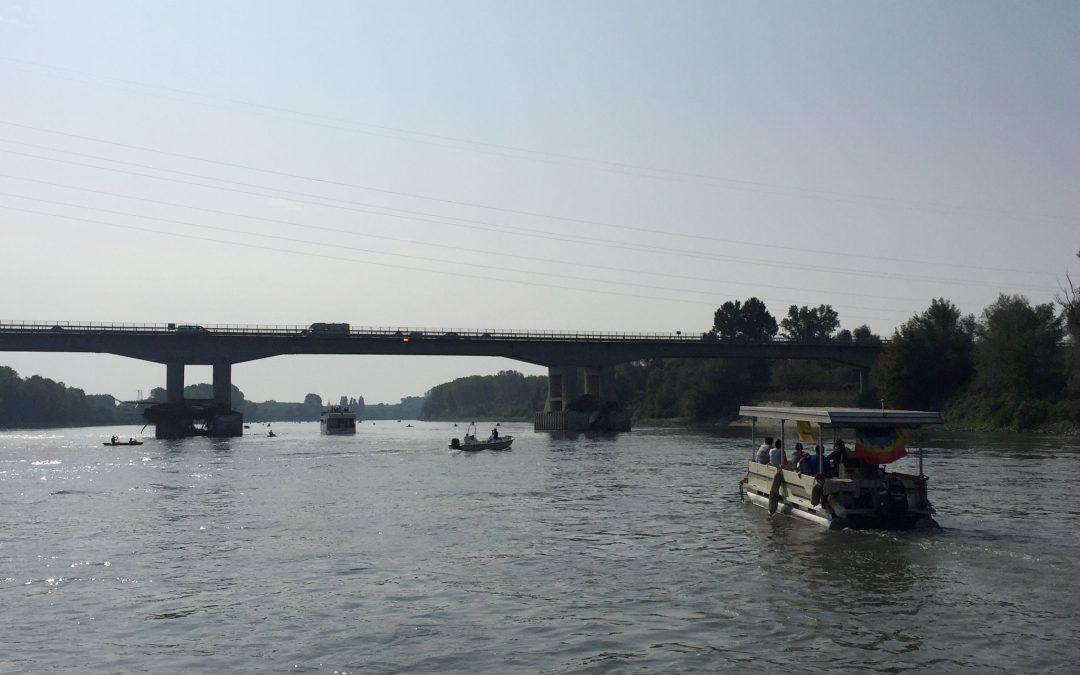 Interventi rapidi per ripristinare la circolazione sul fiume Po