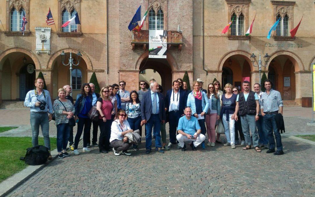 Borsa del Turismo Fluviale del PO: grande partecipazione di 25 tour operator all'itinerario parmense