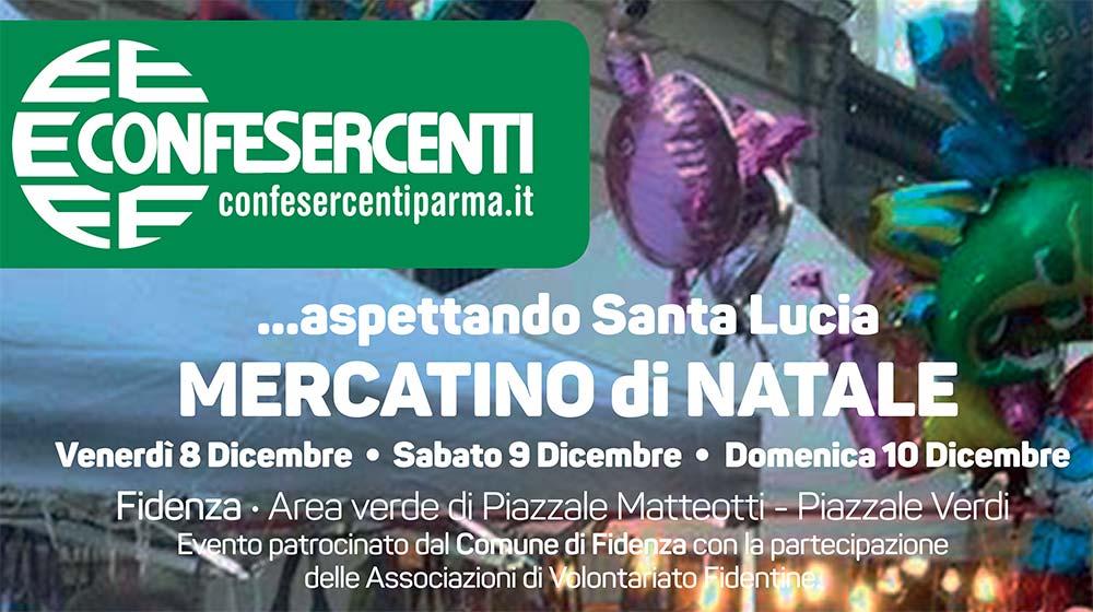 Mercatino di Natale… aspettando Santa Lucia. A Fidenza dall'8 al 10 dicembre