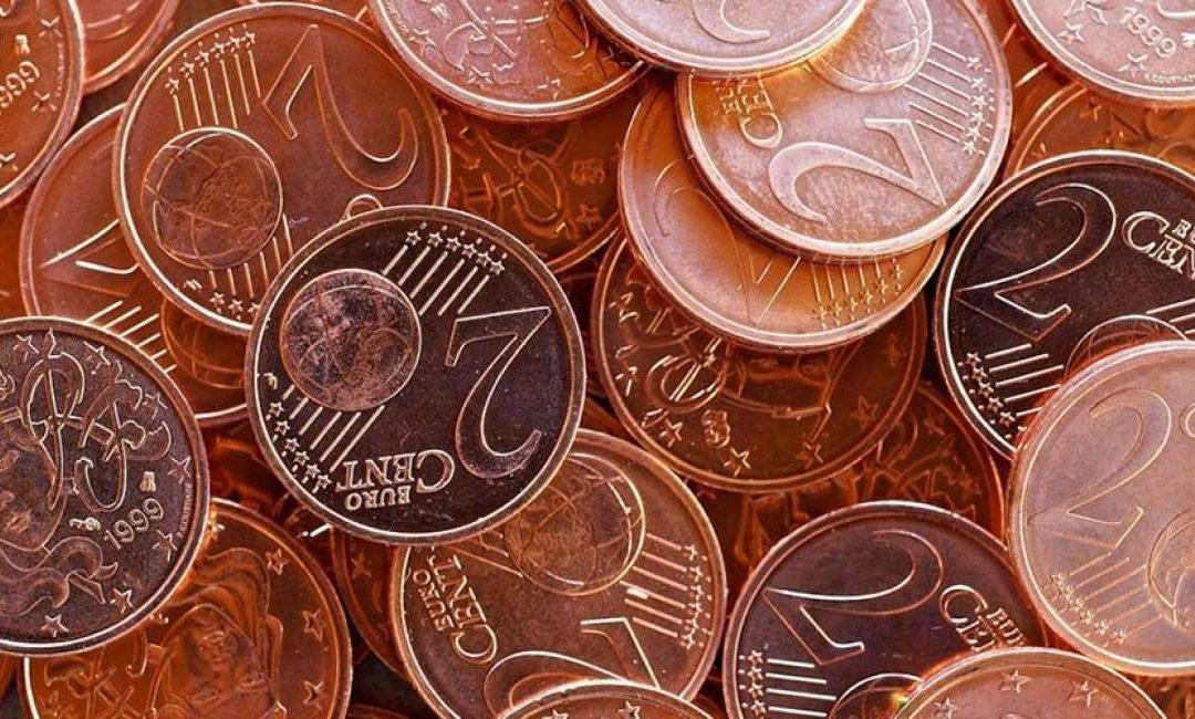Sospensione conio monete da 1 e 2 centesimi. Arrotondamenti.