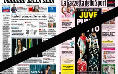 """Editoria: giornalai Fenagi, forte contrarietà a tandem Gazzetta dello Sport – Corriere della Sera. Edicole sono pronte alla """"resa"""""""