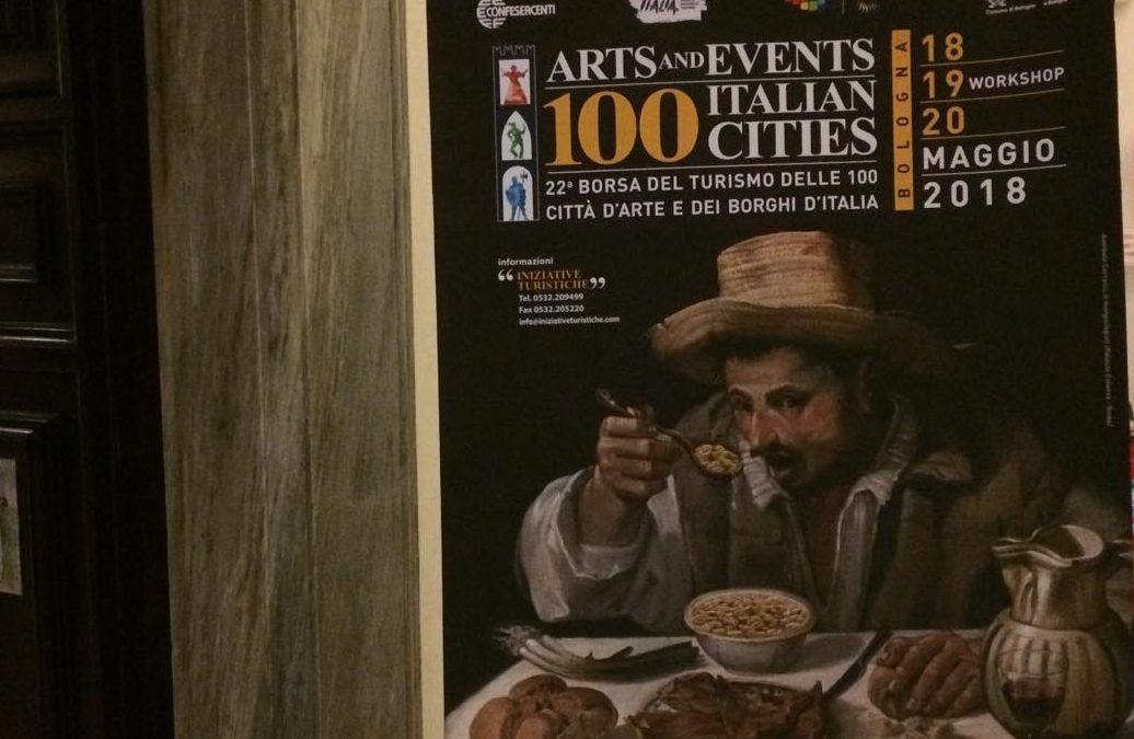 A fine maggio a Bologna la XXIIIa Borsa del Turismo delle 100 Città d'Arte e dei Borghi d'Italia