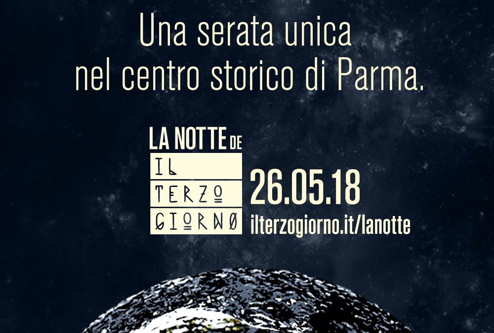 La notte del terzo giorno. Il 26 maggio in centro a Parma negozi aperti per il grande evento
