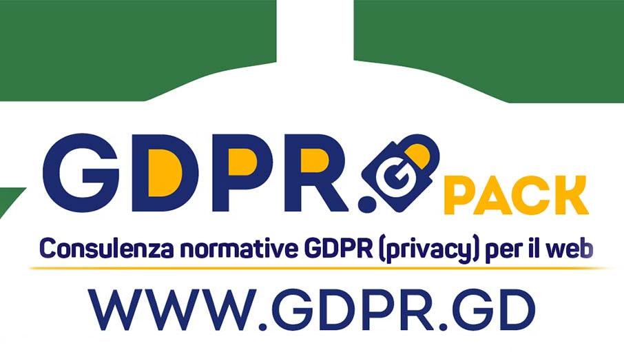 GDPR.GD Consulenza normativa GDPR (privacy) per il web