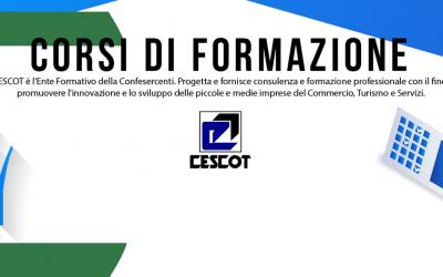 Nuovo Cescot Parma: l'offerta è sempre più completa. L'ente di formazione di Confesercenti Parma si rinnova e cresce