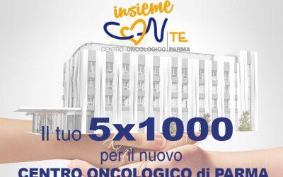 """Confesercenti Parma sostiene """"Insieme CON te"""" per l'oncologia di Parma. Dona il 5 x mille"""
