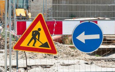 Cantieri a settembre: danni ingenti per le imprese