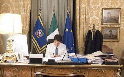 Massimo Delle Donne scrive al Presidente del Consiglio Giuseppe Conte