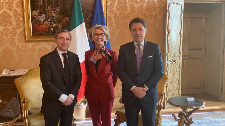 Il Presidente del Consiglio Conte ha ricevuto Confesercenti a Palazzo Chigi